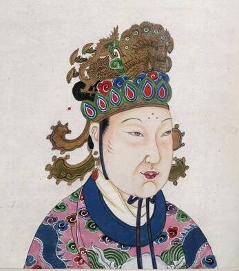 A portrait of Empress Wu Zetian (Wikimedia Commons).